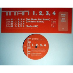 """Titan - 1, 2, 3, 4, 12"""", Promo"""