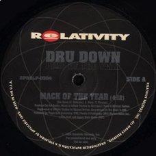"Dru Down - Pimp Of The Year, 12"", Promo"