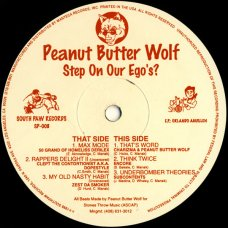 "Peanut Butter Wolf - Step On Our Ego's?, 12"", EP"