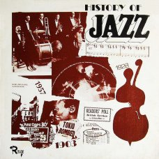 The Johnny Hawksworth Jazz All Stars - History Of Jazz, LP