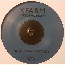 "Xfarm, Loke Deph & Esben - Meget Avanceret EDB / Rumdreng, 7"""
