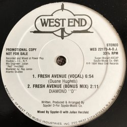 "Diamond ""D"" - Fresh Avenue, 12"", Promo"