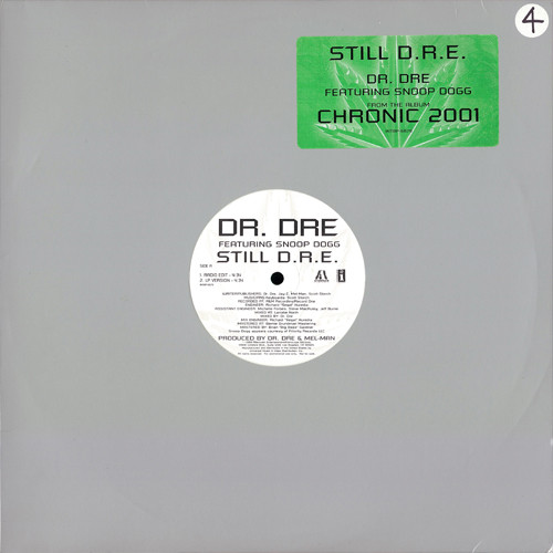 "Dr. Dre Featuring Snoop Dogg - Still D.R.E., 12"", Promo"