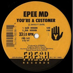 EPEE MD - It's My Thing / You're A Customer, 12""