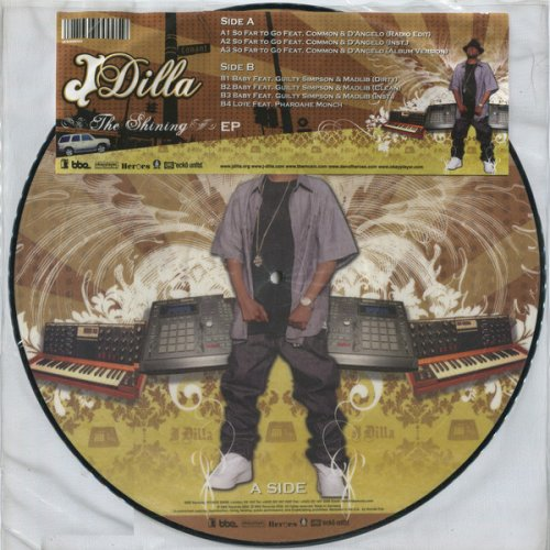 "J Dilla - The Shining EP, 12"", EP, Picture Disc"