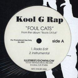 "Kool G Rap - Foul Cats, 12"", Promo"