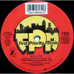 """M C Lyte - Poor Georgie / Search 4 The Lyte, 12"""""""