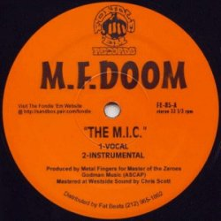 M.F. Doom - The M.I.C. / Red & Gold, 12""