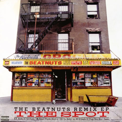 """The Beatnuts - The Spot (The Beatnuts Remix EP), 12"""", EP"""