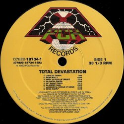 Total Devastation - Total Devastation, LP
