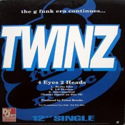 "Twinz / Dove Shack - The G Funk Era Continues..., 2x12"", Promo"