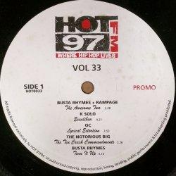 "Various - Vol 33, 12"", Promo"