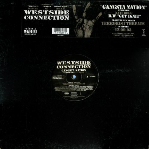Westside Connection - Gangsta Nation, 12""