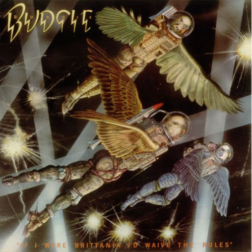 Budgie - If I Were Brittania I'd Waive The Rules, LP