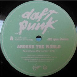 "Daft Punk - Around The World, 12"", Promo"