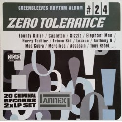 Various - Zero Tolerance, 2xLP