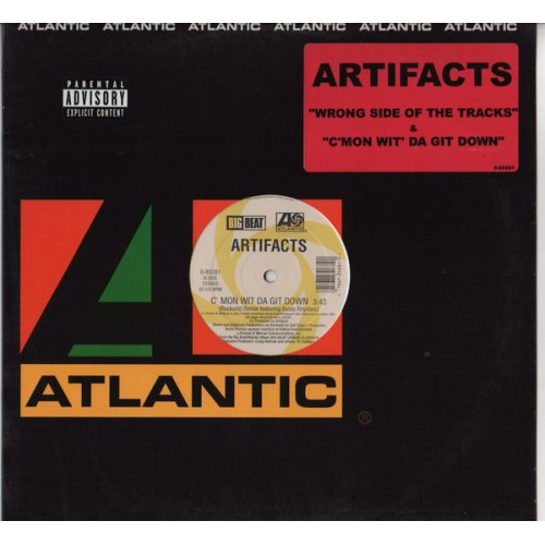 "Artifacts - Wrong Side Of Da Tracks / C'mon Wit Da Git Down, 12"", Reissue"
