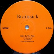 """Brainsick - Stick To The Plan / Swirving To The Music, 12"""""""