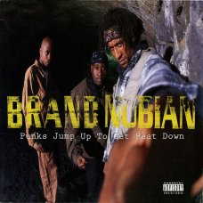 """Brand Nubian - Punks Jump Up To Get Beat Down, 12"""""""