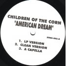 Children Of The Corn - American Dream / Harlem U.S.A., 12""