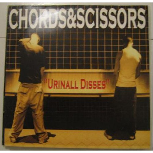 "Chords & Scissors - Urinal Disses, 12"", EP"