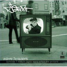 DJ Q-Bert - Wave Twisters - Episode 7 Million: Sonic Wars Within The Protons, 2xLP