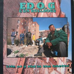 Ed O.G & Da Bulldogs - Life Of A Kid In The Ghetto, LP