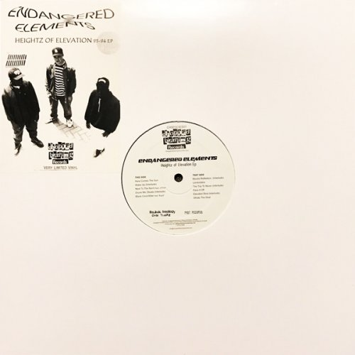 "Endangered Elements - Heightz Of Elevation 93-94 EP, 12"", EP"