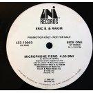 "Eric B. & Rakim - Microphone Fiend, 12"", Promo"