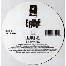 Erule - Listen Up / Synopsis, 12""