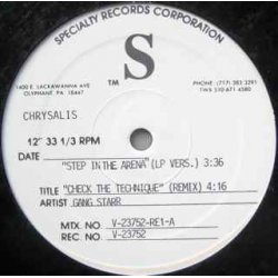 "Gang Starr - Step In The Arena, 12"", Test Pressing"