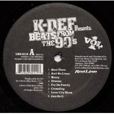 K-Def - Beats From The 90's Vol. 1, LP