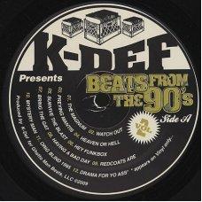 K-Def - Beats From The 90's Vol. 2, LP