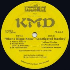 """KMD - What A Nigga Know, 12"""", Reissue"""