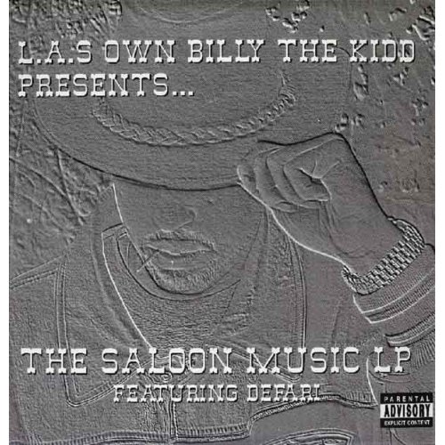 L.A.'s Own Billy The Kidd featuring Defari - L.A.s Own Billy The Kidd Presents... The Saloon Music LP, 2xLP