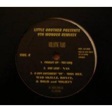 "Little Brother Presents 9th Wonder - Remixes Vol. 2, 12"""