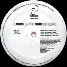 "Lords Of The Underground - Faith, 12"""