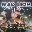 Mad Lion - Ghetto Gold & Platinum Respect, 2xLP