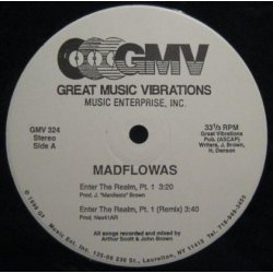 Madflowas - Enter The Realm, Pt. 1, 12""