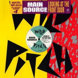 "Main Source - Looking At The Front Door / Watch Roger Do His Thing, 12"", Reissue"