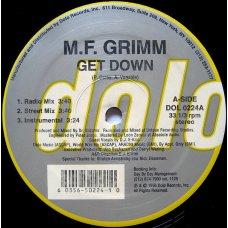 "M.F. Grimm - Get Down, 12"""