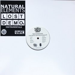 "Natural Elements - Lost Demos And Instrumentals EP, 12"", EP"