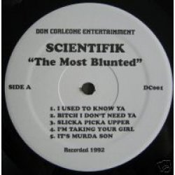 Scientifik - The Most Blunted, LP