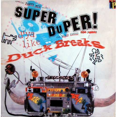 The Tablist - Super Duper Duck Breaks, LP, Repress