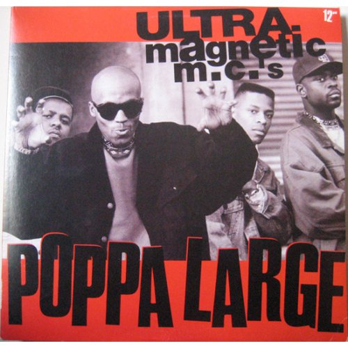 Ultramagnetic MC's - Poppa Large, 12""