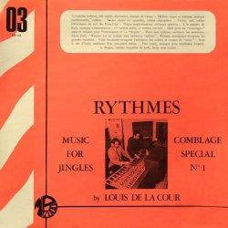 Louis De La Cour - Rythmes, LP