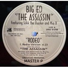 "Big Ed - Rodeo, 12"", Promo"
