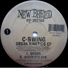 "C-Swing - Urban Kinetics EP, 12"", EP"
