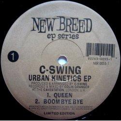 """C-Swing - Urban Kinetics EP, 12"""", EP"""