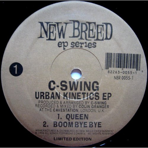 7c36eec31378d2 C-Swing - Urban Kinetics EP